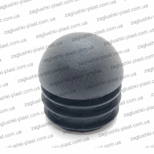 Заглушка круглая внутренняя 30 сфера