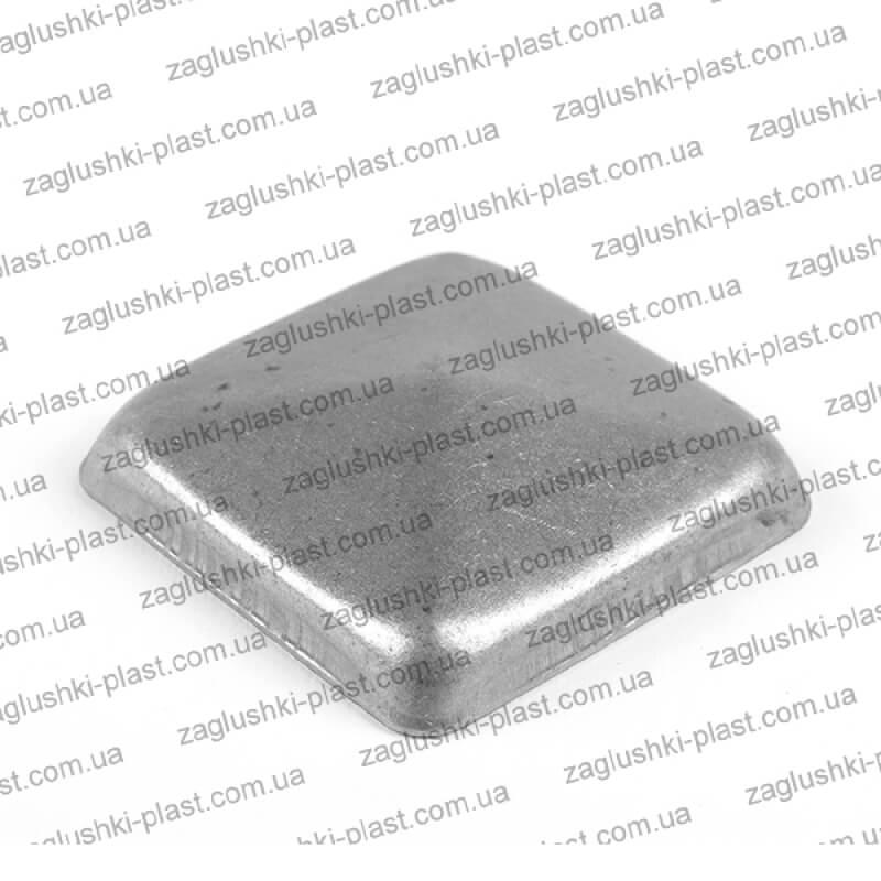 Заглушка металлическая квадратная 60на 60