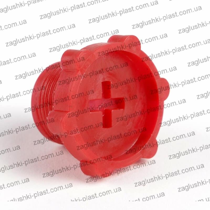 Заглушка резьбовая внутренняя М22 на 1,5