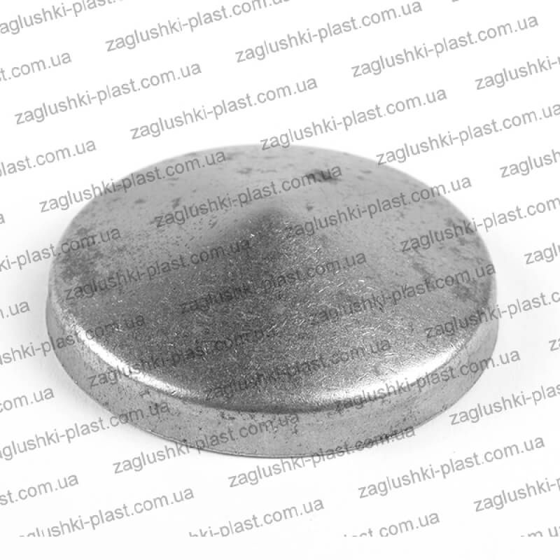Заглушка металлическая круглая 60
